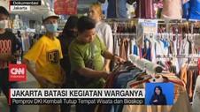 VIDEO: Jakarta Batasi Kegiatan Warganya