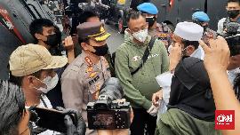 Perwakilan Massa Rizieq Gagal Bernegosiasi dengan Polisi