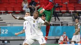 FOTO: Duel Imbang Portugal vs Prancis di Euro 2020