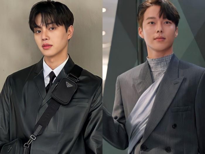 Tak hanya aktif sebagai aktor, Song Kang dan Jang Ki Yong juga kerap didapuk menjadi model. Keduanya pun kerap tampil dengan pakaian yang stylish. Lihat saja gaya Song Kang dan Jang Ki Yong dalam setelan jas ini. (source: Soompi)