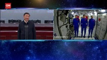 VIDEO: Xi Jinping Ngobrol dengan Astronaut di Luar Angkasa