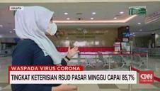 VIDEO: Tingkat Keterisian RSUD Pasar Minggu Capai 85,7%