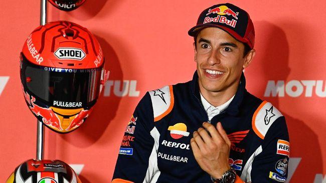 Marc Marquez mengaku beruntung tidak terluka pasca kecelakaan di latihan bebas 2 (FP2) MotoGP Belanda.