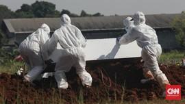 Rekor Angka Kematian dan Kebijakan Tanggung Pandemi Covid