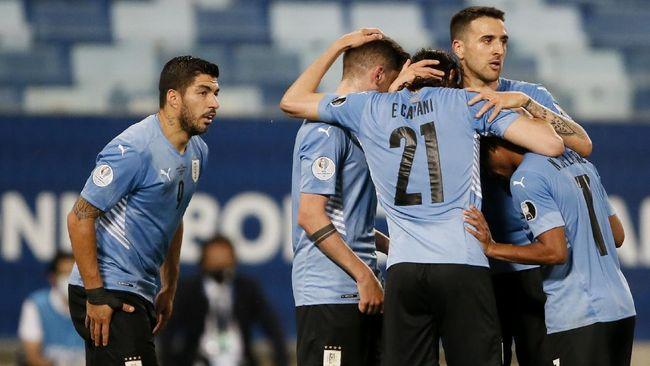 Uruguay berhasil memetik kemenangan perdana di Copa America 2021 dengan menaklukkan Bolivia 2-0.