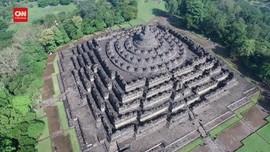 VIDEO: Candi Borobudur, Mendut Dan Pawon Ditutup