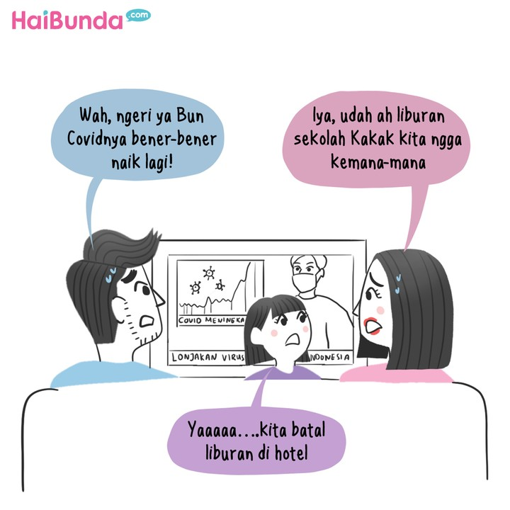 Komik Liburan di Rumah
