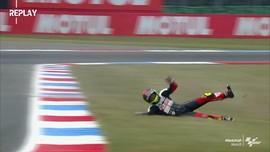 VIDEO: Deretan Kecelakaan Saat Tes Bebas di GP Belanda