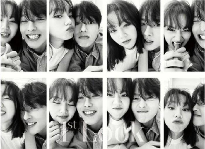 Jauh sebelum drama ini tayang, Hyeri dan Jang Ki Yong sempat membuat heboh dunia maya dengan mengunggah foto mesra mereka di akun instagram masing-masing. Ternyata foto tersebut diambil untuk pemotretan majalah 1st Look / foto: 1stLook Korea