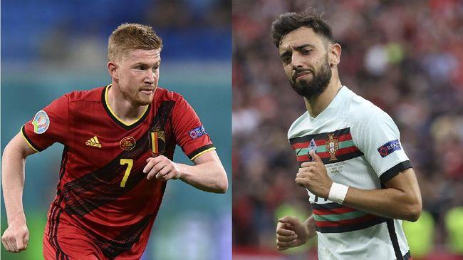5 Duel Kunci Belgia vs Portugal di 16 Besar Euro 2020