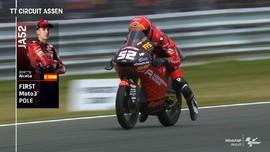 VIDEO: Indonesia Gresini Rebut Pole Moto3 Belanda