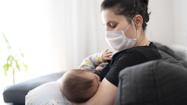 Spesialis kandungan memaparkan sejumlah penyebab produksi ASI menurun saat ibu positif Covid-19.