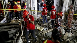 FOTO: Ledakan Hebat di Bangladesh Tewaskan 7 Orang