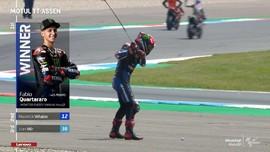 VIDEO: Kemenangan Meyakinkan Quartararo di MotoGP Belanda
