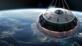 Wisata Balon Udara Luar Angkasa bagi Turis yang Bosan di Bumi