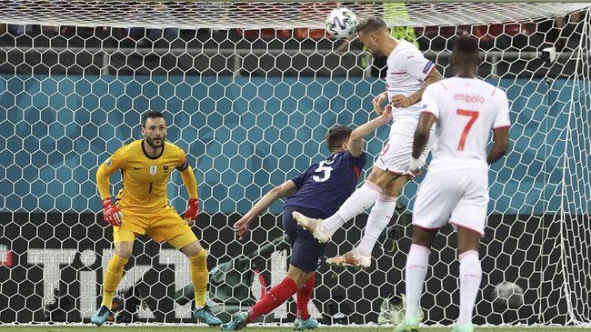 Kekalahan Prancis dari Swiss yang membuat Les Bleus tersingkir dari Euro 2020 (Euro 2021) memancing kreativitas warganet untuk membuat meme.