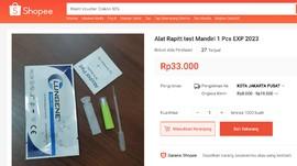 Kucing-kucingan Penjual Tes Swab Antigen Murah di e-Commerce