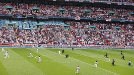 Euro 2020: Fan Inggris Diminta Tak Nobar Dalam Ruangan