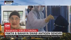VIDEO: Fakta & Bahaya Swab Antigen Sendiri