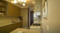 <p>Di dekat dapur bersih terdapat ruangan kecil. Dalam ruangan ini ada dapur kotor, kamar tidur Asisten Rumah Tangga (ART), dan pintu darurat. (Foto: YouTube TAULANY TV)</p>