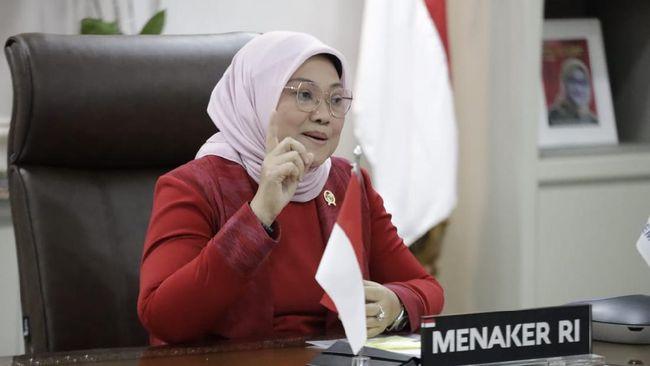 Menteri Ketenagakerjaan Ida Fauziyah menegaskan, melindungi dunia usaha berarti perlindungan terhadap tenaga kerja, termasuk menghadapi dampak pandemi.