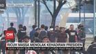 VIDEO: Ricuh Massa Menolak Kehadiran Presiden Joko Widodo