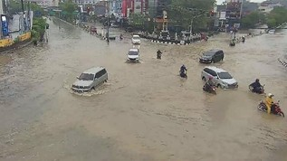 9.444 Warga Terdampak Banjir di Kota Samarinda