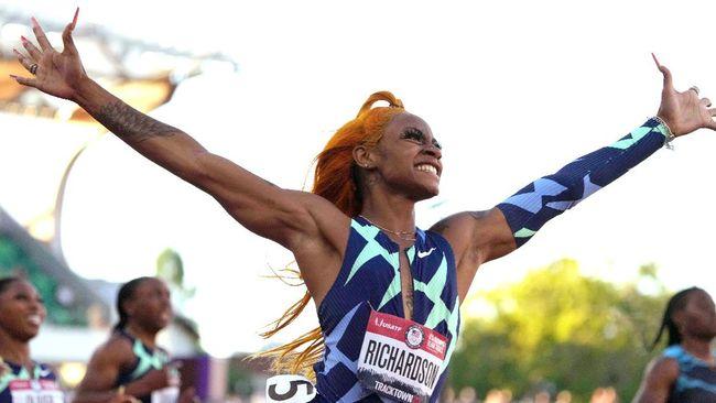 Sprinter putri Amerika Serikat Sha'Carri Richardson terancam gagal tampil di Olimpiade Tokyo 2020 usai positif memakai ganja.