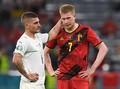 De Bruyne Main 90 Menit dengan Cedera di Belgia vs Italia
