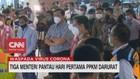 VIDEO: Tiga Menteri Pantau Hari Pertama PPKM Darurat