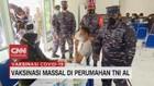 VIDEO: Vaksinasi Massal di Perumahan TNI AL