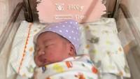 <p>Anak ketiga Wendi dan Ayu berjenis kelamin perempuan, lho. Putri kecilnya ini diberi nama Aiko Phoenix Dactylifera. (Foto: Instagram: @revtiaayunatasya)</p>