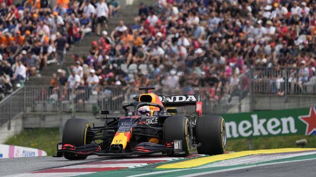 Max Verstappen berhasil memenangkan balapan F1 GP Austria disusul Valtteri Bottas di posisi kedua.