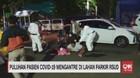 VIDEO: Puluhan Pasien Covid-19 Mengantre di Lahan Parkir RSUD