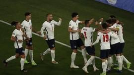 Hasil Euro 2020: Hancurkan Ukraina 4-0, Inggris ke Semifinal