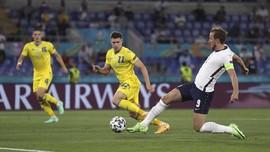 Harry Kane Bawa Inggris Ungguli Ukraina di Babak I Euro 2020