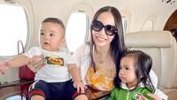 <p>Baru-baru ini, Momo eks Geisha berlibur atau <em>staycation</em> bersama keluarganya di Bali, Bunda. (Foto: Instagram @therealmomogeisha)</p>