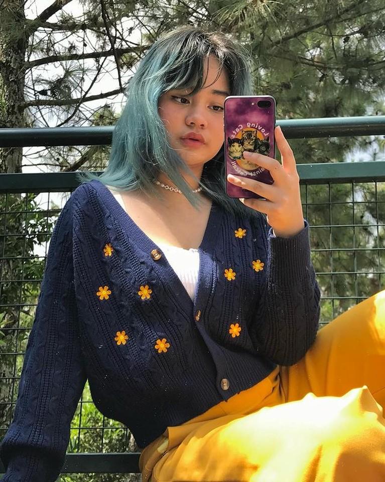 Potret Mima Shafa Putri Mona Ratuliu yang Kerap Gonta Ganti Warna Rambut
