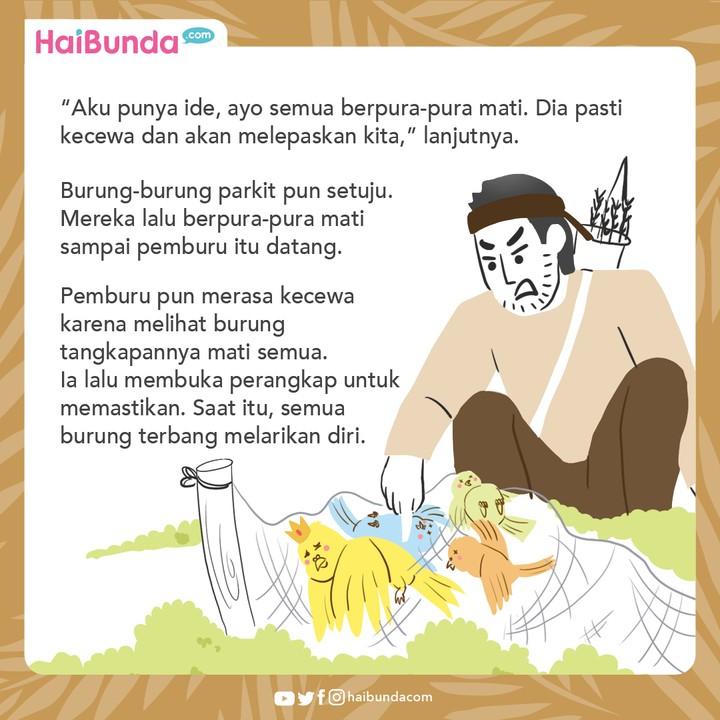Cerita Nusantara Raja Parkit