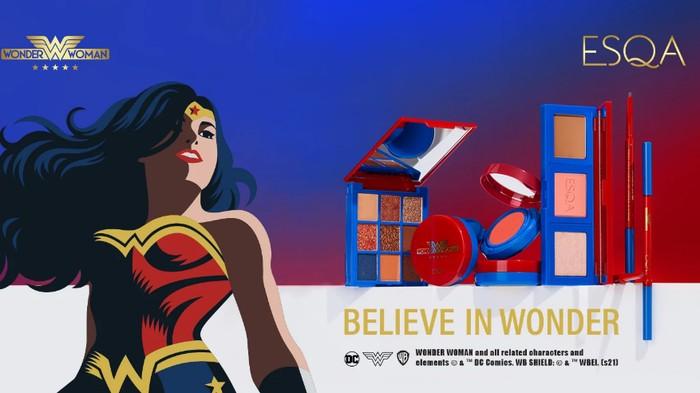 Mengenal Kolaborasi ESQA Cosmetics x Wonder Woman yang Viral di Instagram!