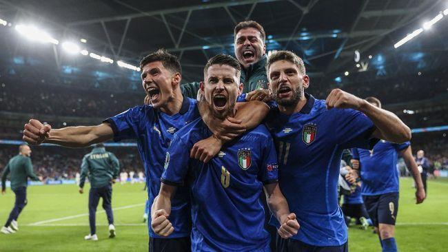 Fakta Menarik Final Euro 2020 Italia vs Inggris