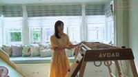 <p>Nah, di ruang kamar ini juga terdapat perlengkapan gym kecil yang terbuat dari kayu untuk Claire. Selain bermain, Claire juga bisa sehat karena melakukan aktivitas fisik ringan. (Foto: YouTube Shandy Aulia)</p>