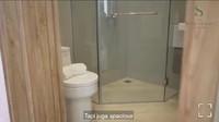 <p>Yang paling penting dari sebuah rumah tentu adalah kamar mandi. Di rumah Nasywa, kamar mandinya tidak terlalu besar dan tidak terlalu kecil. Meski begitu, desainnya tetap elegan dan minimalis. (Foto: Instagram: @thesanctuarycollectionofficial)</p>