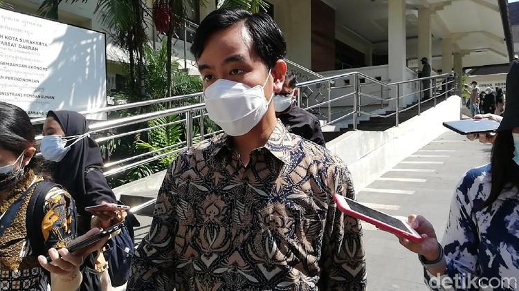Wali Kota Solo Gibran Rakabuming Raka, Rabu (7/7/2021).