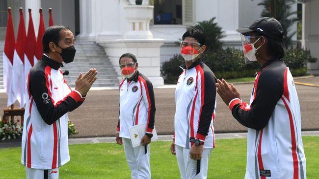 CdM Kontingen Indonesia Rosan Perkasa Roeslani menegaskan seluruh atlet Merah Putih siap tempur jelang pembukaan Olimpiade Tokyo 2020.