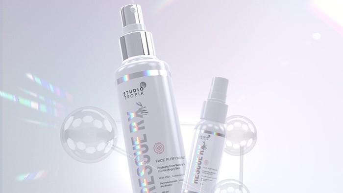 Rescue RX, Face Mist Antibacterial Terbaru dari Studio Tropik