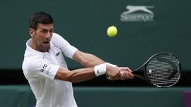 Hasil Wimbledon: Djokovic ke Semifinal, Federer Tumbang