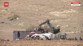 VIDEO: Israel Gusur Tenda Suku Arab Badui di Tepi Barat