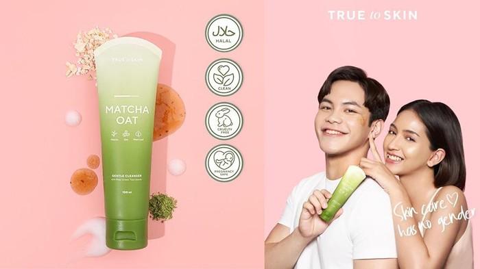 Matcha Oat Gentle Cleanser, Face Wash Berbahan Dasar Matcha Terbaru dari True to Skin