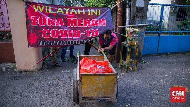 Daftar RT Zona Merah Terbaru di Jakarta, Terbanyak di Jaksel